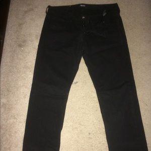 Hudson black Jeans. Size 33